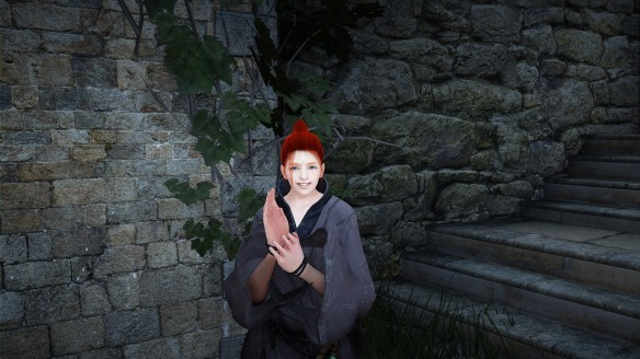 Breena, sorceress of the Northern Clans, recreated via Black Desert Online's character creator