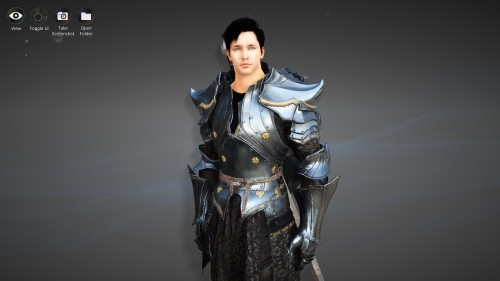 Prince Tyrom of Pira, recreated via Black Desert Online's character creator
